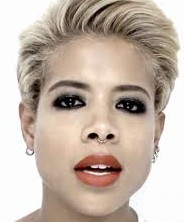 Kelis' look for the video clip to her song Brave