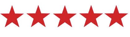 5 red star