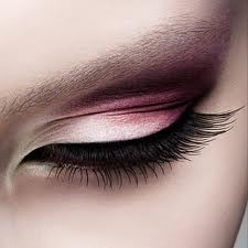 pink ombre eyes