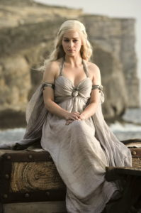 Emilia Clarke in Game of Thrones
