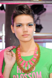 A Modern Twist on the 1040's Victory Roll at Kate Spade Spring 2013 Collection