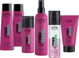 KMS Free Shape Range - Shampoo, Conditioner & Styling Products