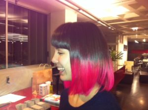 Elumen Dip Dye COlour by Advanced Stylist Carl Campbell