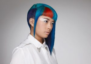 Stylist Carl Campbell for Goldwell/KMS Colorzoom 2014