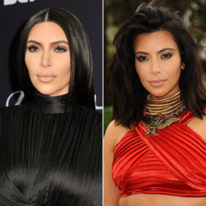 From sleek to on fleek! This mid-length textured style adds more fun, vibrancy and dimension to Kim's fashion look.