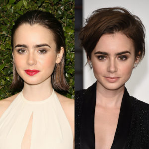 From mid-length bob to flicky pixie, Lily Collins ramps up her vamp factor 10 times over!