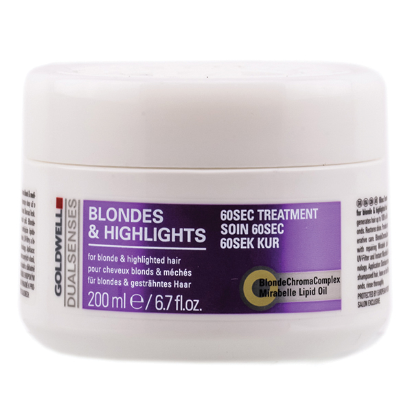 Dualsenses Blondes Amp Highlights 60 Second Treatment 200ml
