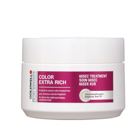 dualsenses colour extra rich 60 second treatment for coloured hair that is damaged