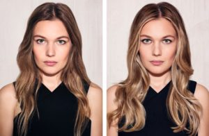 What is hair contouring?