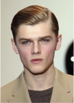 sleek and glossy hair for guys