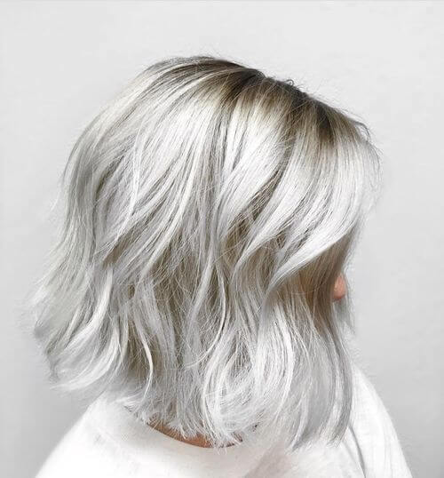 silver hair colour trends