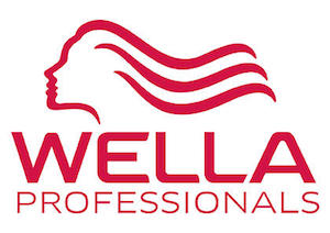 Wella Professionals Logo. Wella Professional products are available at Lily Jackson Hair & Makeup