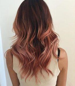 10 Gorgeous Rose Gold Hair Colour Ideas