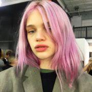 quartz rose gold hair