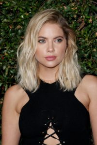 ashley benson's ash blonde hair
