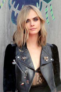 cara delevigne's ash blonde hair