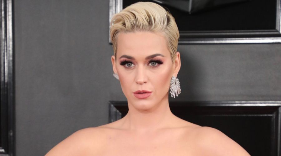 Katie Perry Pixie Cut