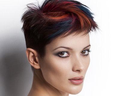 Tints and highlights hair colour