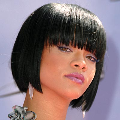 Rihanna's Bob Cut Hair