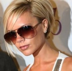Bob Cut Hairstyle of Victoria Beckham