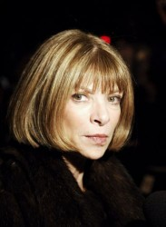 Bob Cut Hairstyle of Anna Wintour