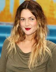 Drew Barrymore Ombre Hair