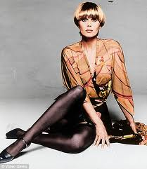style icon joanna lumley with the purdey   lily jackson