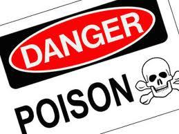 poisonous substance sign