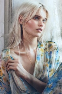 Abbey Lee Kershaw in Australian Vogue August 2012