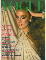 Jerry Hall Vogue Cover July 1976