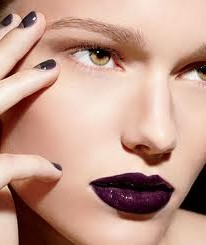 Deep Aubergine Satin Perfect Pout