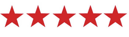 5 red star